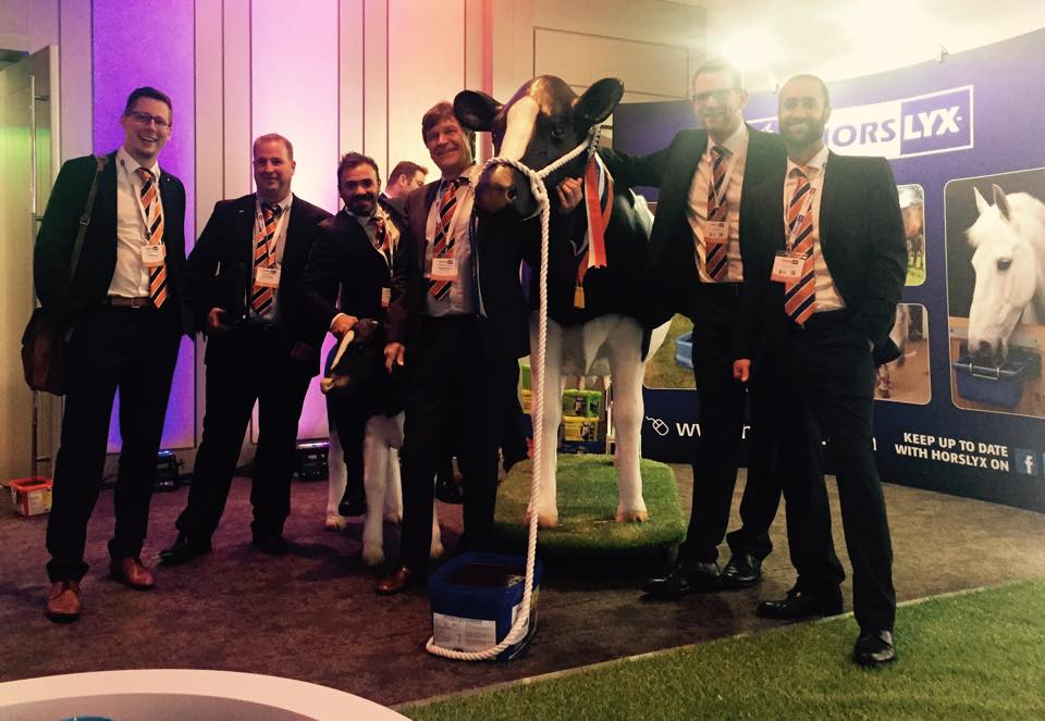 Model Cow & Calf appearing at Irish Symposium