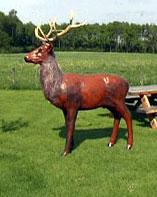 Life Size Model Deer