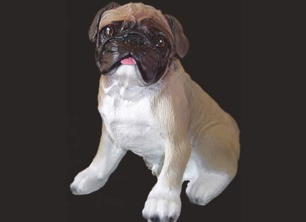 Life Size Model Pug Dog