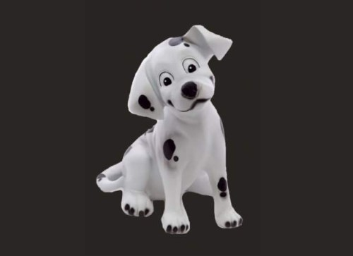 Dalmation Puppy Dog Sitting Model