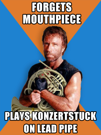 Chuck Norris Plays Konzerstuck