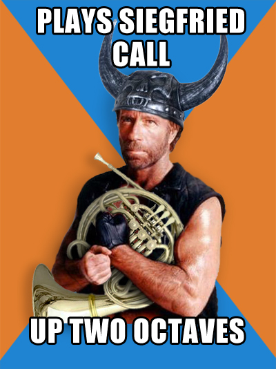 Chuck Norris Plays Siegfried Call