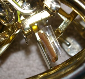 Thumb-valve-tubing