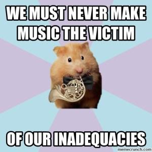 music-victim