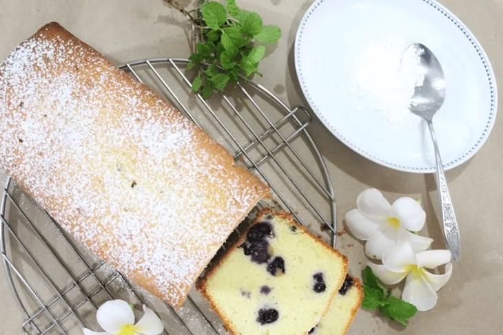 Panque de blueberries receta