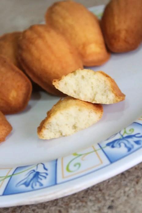 Magdalenas francesas receta