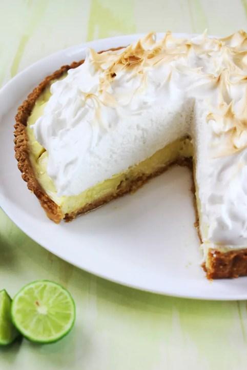 Tarta de limón receta