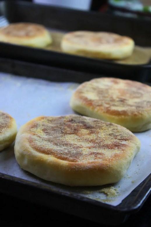 english muffins receta