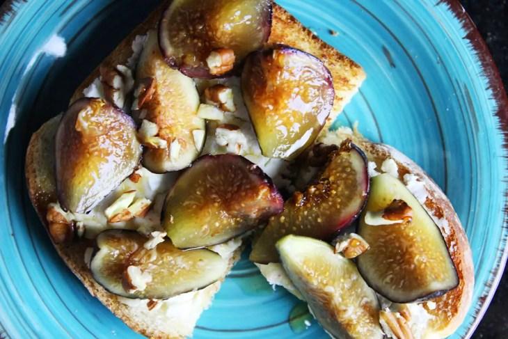 Fig toast recipe