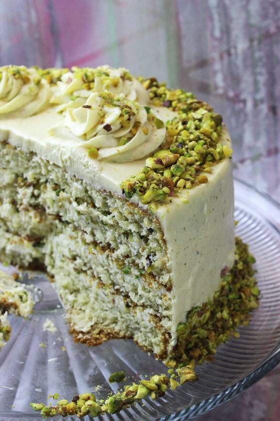 How to make pistachio cake