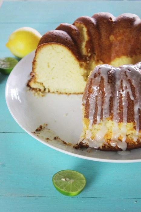 Bizcocho de limón receta