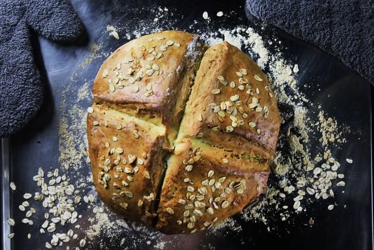 Pan irlandés de bicarbonato receta