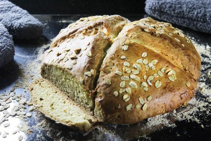 Receta de pan clásico irlandés