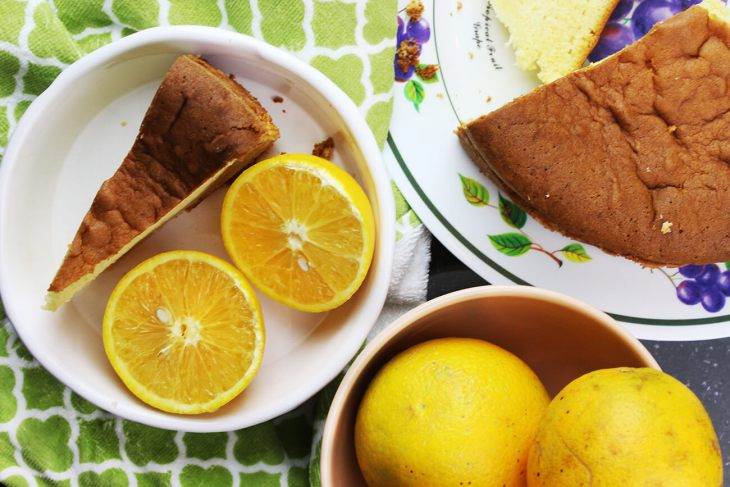 Panqué o bizcocho de naranja receta