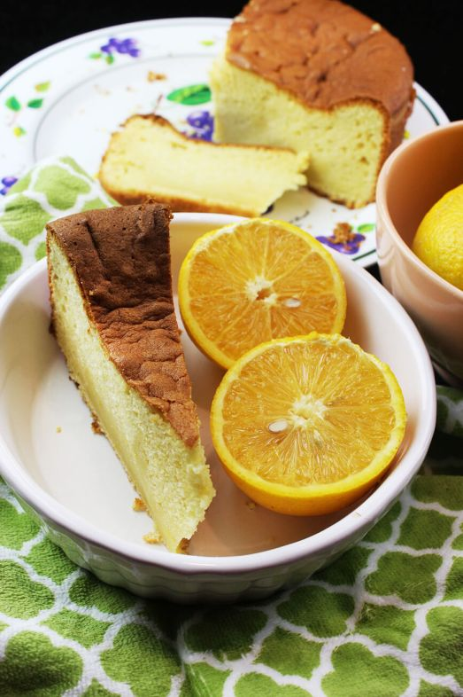 How to make an orange pound cake