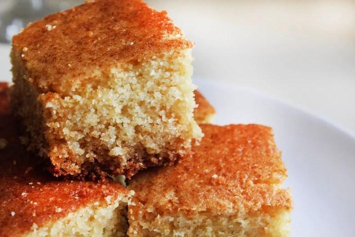 Receta pan de maíz americano