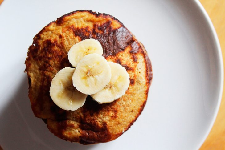 Directions for gluten free healthy banana pancakes