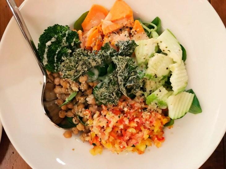 Buddha bowl del level veggie bistro