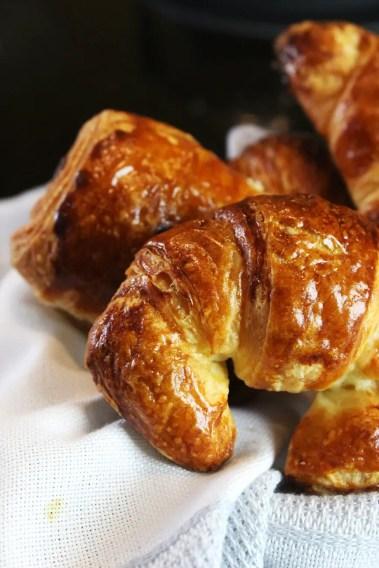 Croissants receta