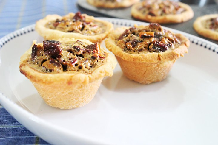 Mini pecan pie homemade recipe