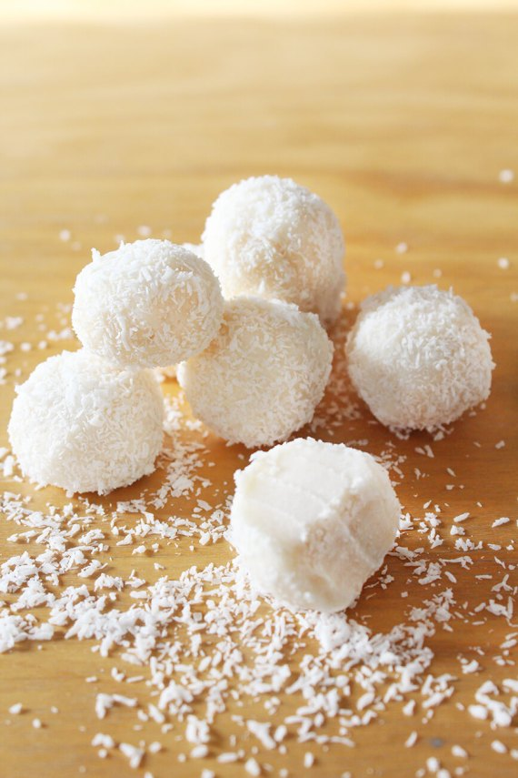 How to make coconut balls