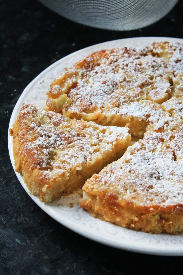 Classic french apple cake recipe