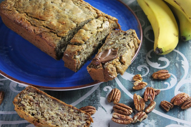 Vegan banana pound cake