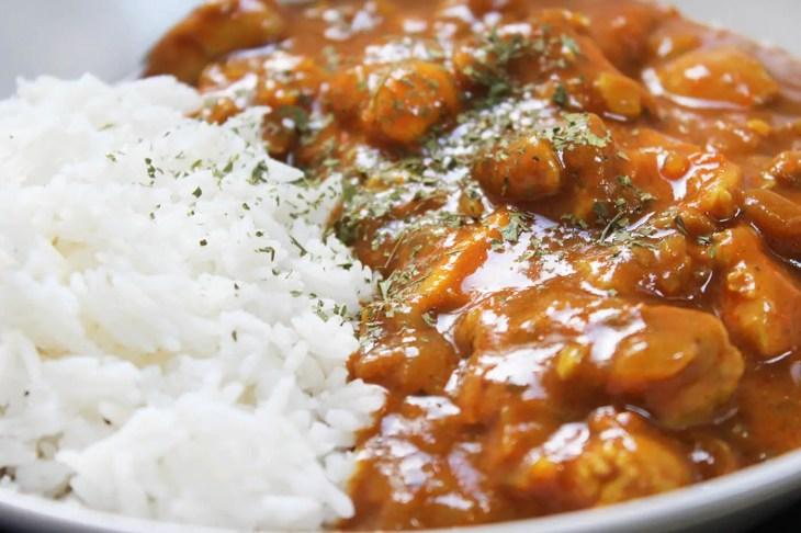 Receta de curry de pollo con coco