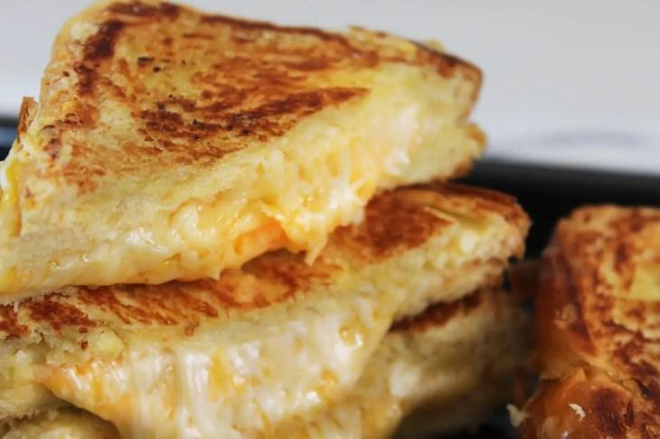 Receta de grilled cheese