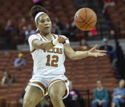 Jada Underwood with an assist-
