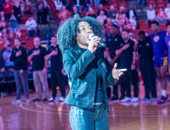 An awesome rendition of our National Anthem by Savanah Collier-
