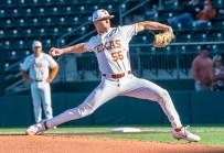 Texas pitcher Justin Eckhardt-