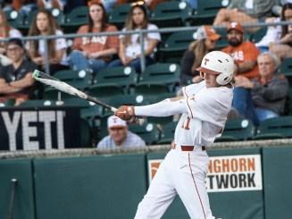A big swing from Texas Senior Duke Ellis-