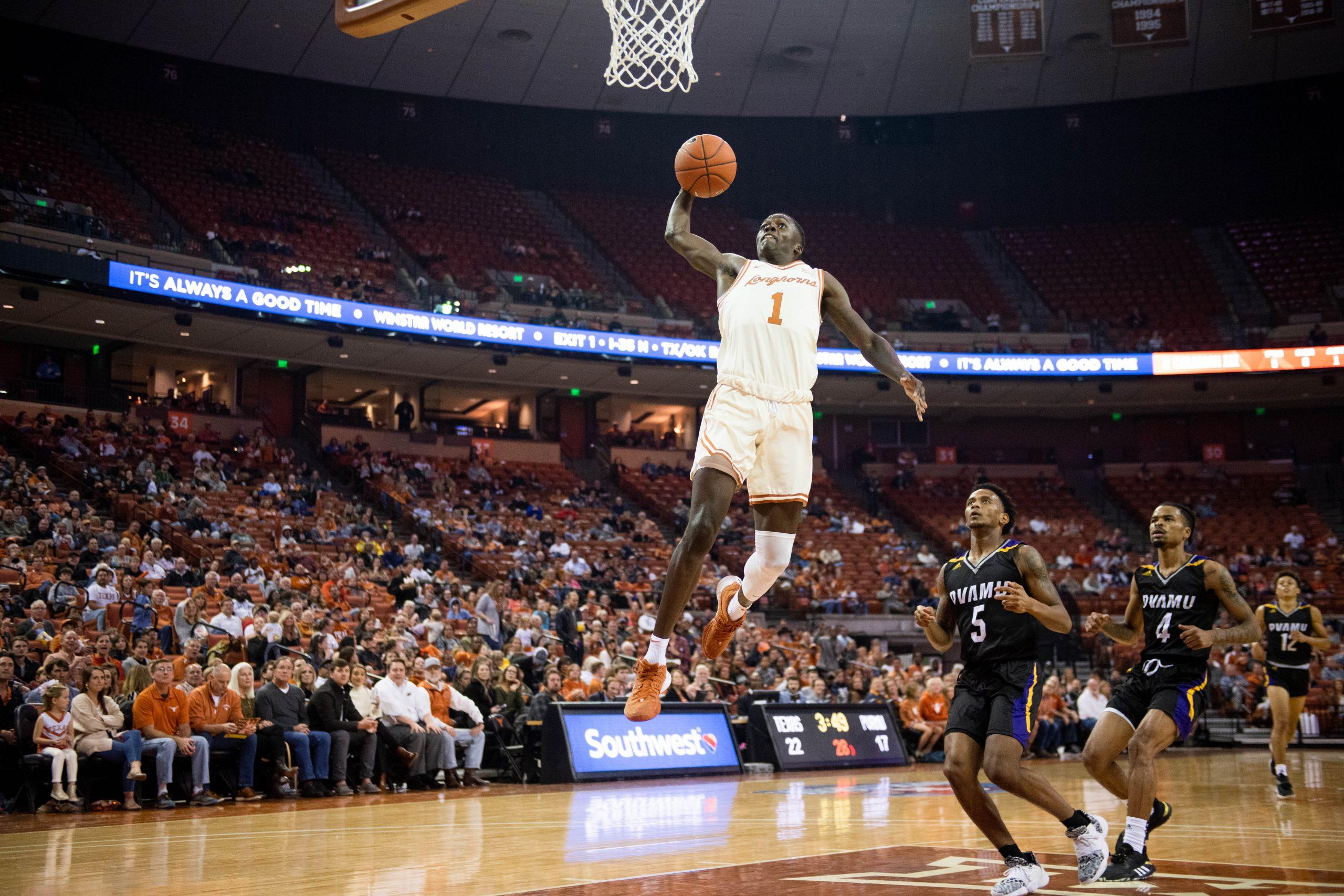 Texas Longhorns Basketball Andrew Jones