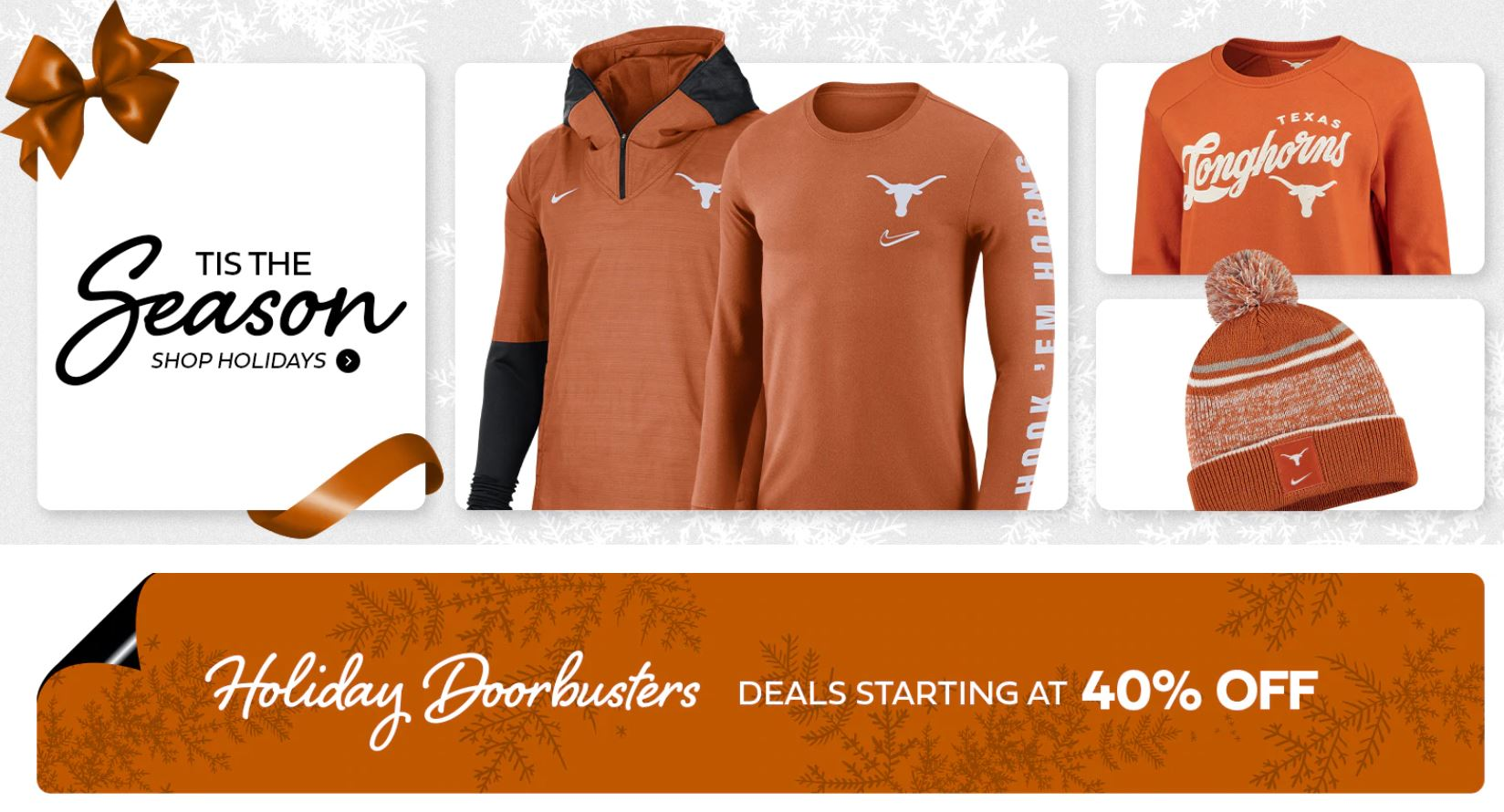 Texas Longhorns Official Shop Holiday
