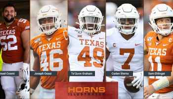 Texas Longhorns 2021 NFL drafted players
