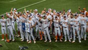 No. 2 Texas Baseball NCAA Super Regional Winners