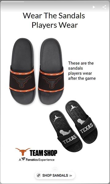 Wear what players wear