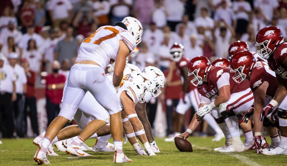 Texas Defense Arkansas Offense