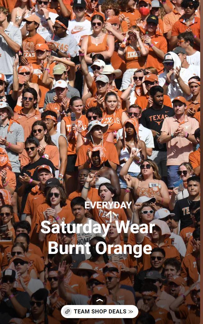 Saturday Wear Burnt Orange