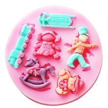 Heirloom Children's  Toys Silicone Mould