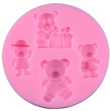WS RDE Teddy Bear Mould