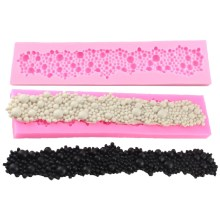 NZ-0322 Silicone Pearl Beading Trim.5