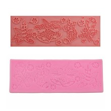NZ-0401 Silicone Christmas Trim Mould