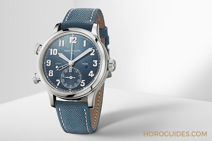 百達翡麗飛行錶新添中型款式|7234G-001兩地時間錶37.5mm - Horoguides 名錶指南 - 香港 Hong Kong
