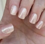 impress nails short length shimmer