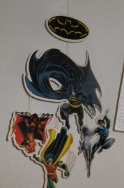Why do I have a Batman mobile? Uh, the boss at the shop didn't want it.