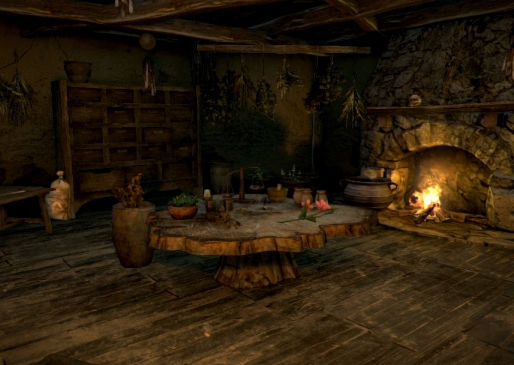 Night In The Witchs Cabin Audio Atmosphere