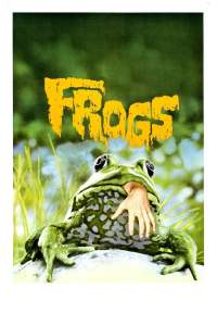 """Poster for the movie """"Frogs"""""""