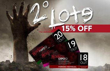 Iniciada a venda do 2º Lote de Ingressos para a Horror Expo